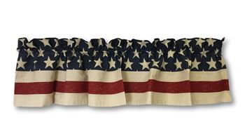 Picture of Vintage Flag Valance