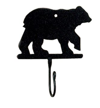 Picture of Bear Decorative Hook - Single