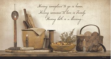 Picture of A Blessing By Susie Boyer Art Print - 16 X 30