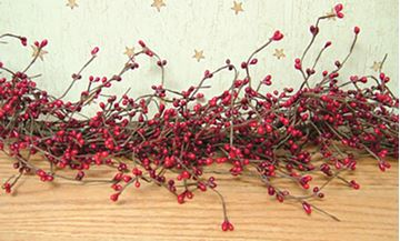 Picture of Pip Berry - Red & Burgandy Garland