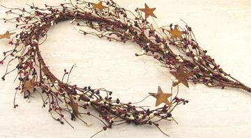 Picture of Pip Berry With Stars - Country Mix Garland