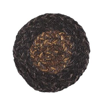 Picture of Slate Braided Coaster Round - Set Of 4