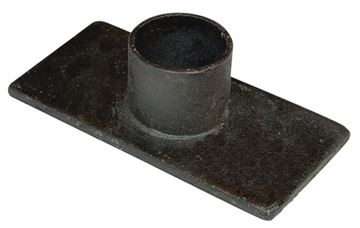Picture of Black Iron - Primitive Candle Holder Rectangle For Taper
