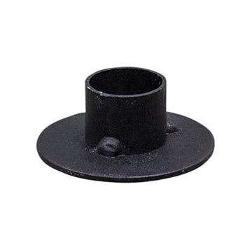 Picture of Black Iron - Primitive Candle Holder Round For Taper