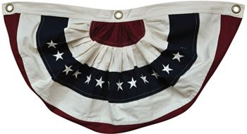 Picture of American - Traditional Cotton bunting Large