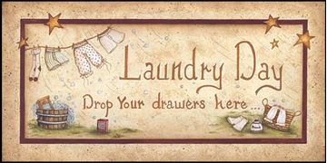 Picture of Drop Your Drawers Fresh By Mary Ann June Art Print - 9 X 18