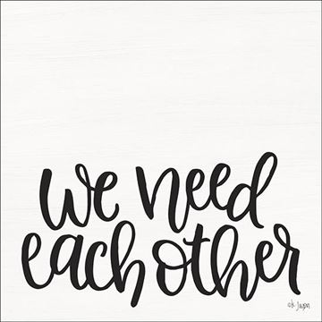 Picture of We Need Each Other By Jaxn Blvd Art Print - 12 X 12