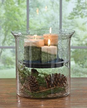 Picture for category Glass Cylinder Candle Holders & Pans
