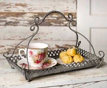 Picture of Chantilly Metal Serving Tray