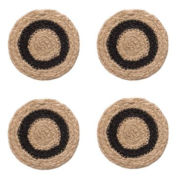 Picture of Bristol Braided Braided Coaster Round - Set Of 4