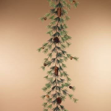 Picture of Ming Pine With Pinecones Garland 6' L