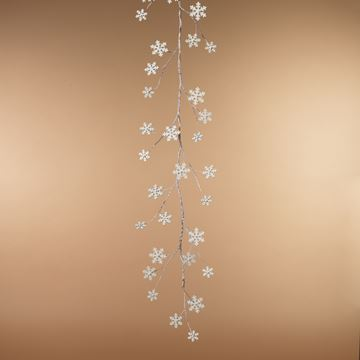Picture of Holiday Metal Snowflake Garland 5' L