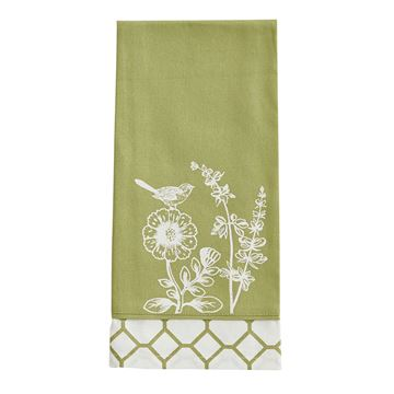 Picture of Abby's Garden Decorative Towel