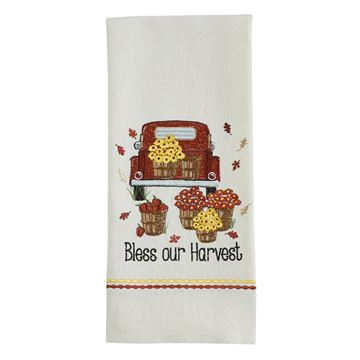 Picture of Bless Our Harvest Decorative Towel