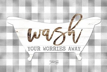 Picture of Wash Your Worries Away By Marla Rae Art Print - 12 X 18