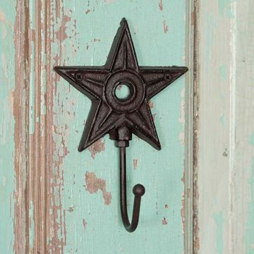 Picture of Architectural Star Decorative Hook - Single