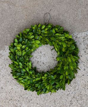 "Picture of Boxwood Wreath 11"" Diameter Outside"