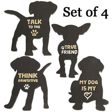Picture of Dog Magnet - Set Of 4 - Assorted