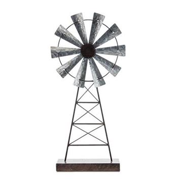 Picture of Rustic Windmill On Stand