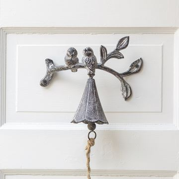 Picture of Cast Iron Birds On A Branch Bell