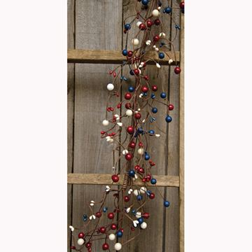 "Picture of Americana Berry Garland 48"" Long"