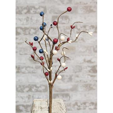 "Picture of Americana Berry Pick / Spray 12"" High"
